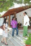 Pooja meets RajiniKanth at his Poes Garden Residence