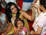 Raveena Tandon At Tinker Bell Book Reading Session