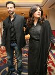 Raveena Tandon with her husband Anil Thadani