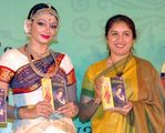 Shobana with Revathy