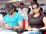 Silambarasan and Nayanthara (broke up pair) at Hogenekkal water issue hunger strike