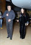Actress Sridevi and husband Boney Kapoor at a function