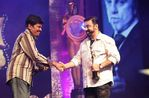 Kamal and Director Shankar at Vijay Awards function