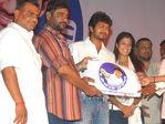 Vijay fan club flag - unveiled