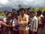 Actor Vijay at Villu Shooting - Villu Shooting Photos