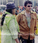 Ajith in Billa Shooting