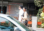 Deepika padukone and her lover Actor Ranbir Kapoor on Candid photo