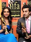 Deepika Padukone and Ranbir Kapoor - IIFA awards for Sawaariya and Om Shanti Om