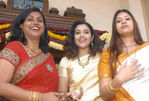Actress Roja with Meena and Sangavi in a function