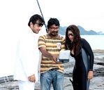 Ajith, Nayanthara in Billa Shooting