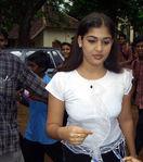 Nayanthara in public