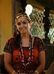 Simran as Amman in Navavelli Tele-serial