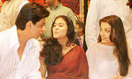 srk, kajol and aishwarya rai