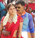 Nayanthara with Vishal in Sathyam Movie