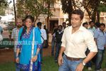 Actress Priyamani Birthday celebration on the sets of RaktaCharitra