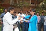 Actress Priyamani Birthday celebration on the sets of RaktaCharitra (6)
