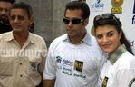 Jacqueline Fernandez, Salman Khan at Day 1 of the Videocon IIFA Weekend in Colombo on 3rd June 2010