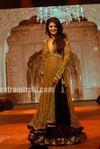 Jacqueline Fernandez as showstopper for Manish Malhotra at the IIFA Fashion Extravaganza