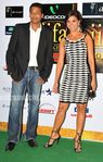 Lara Dutta, Mahesh Bhupati at Day 1 of the Videocon IIFA Weekend in Colombo (1)