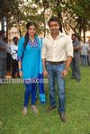 Surya at Actress Priyamani s Birthday celebration on the sets of RaktaCharitra (6)