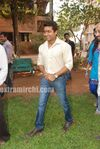 Surya at Actress Priyamanis  Birthday celebration on the sets of RaktaCharitra (2)
