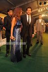 Hrithik roshan with his wife Susanne  khan at IIFA Awards 2010 Green Carpet