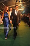 Hrithik roshan with his wife Susanne  khan at IIFA Awards 2010 Green Carpet (2)