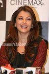 Aishwarya Rai in a Sabyasachi Mukherjee outfit at Raavan promotional event in Mumbai