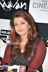 Aishwarya Rai in a Sabyasachi Mukherjee outfit at Raavan promotional event in Mumbai (2)