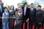 Aishwarya Rai Bachchan, Abhishek Bachchan, Big Bachchan, Jaya Bachchan and Vikram at the Raavan London premiere