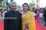 Maniratnam and Suhasini Maniratnam at Raavan premiere in London (1)