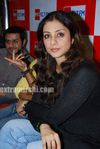 Actress Tabu Promotes Toh Baat Pakki Bollywood Film at Big FM (1)