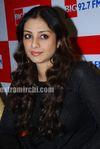 Actress Tabu Promotes Toh Baat Pakki Bollywood Film at Big FM (6)