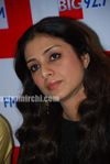 Actress Tabu Promotes Toh Baat Pakki Bollywood Film at Big FM (9)