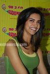 Deepika promote KCK on Radio Mirchi (4)