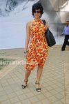 Mandira Bedi  at HDIL race (3)