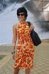 Mandira Bedi  at HDIL race (4)