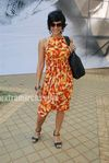 Mandira Bedi  at HDIL race (5)