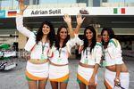 Models at F1