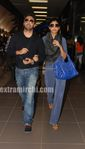 Shilpa Shetty in mumbai airport
