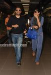 Shilpa Shetty in mumbai airport (1)