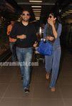Shilpa Shetty in mumbai airport (1)