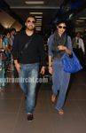 Shilpa Shetty in mumbai airport (5)