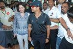 Tendulkar with Anjali Tendulkar (4)