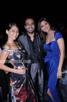 Anusha, Raj Kundra and shilpa Shetty at IPL award