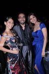 Anusha, Raj Kundra and shilpa Shetty at IPL award