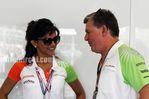 Deepika Padukone cheers for the Force India F1 Team at the British GP- Pics (2)