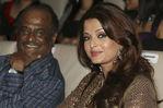 Rajini and  Aishwarya Rai Bachchan at Endhiran audio launch