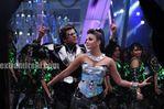 Aishwarya Rai and Rajini in Endhiran the robot movie