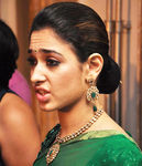 Tamannaah in gorgeous green saree photo